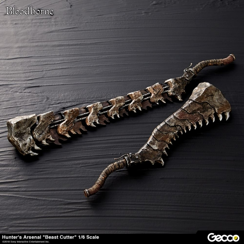 "Bloodborne / Hunter's Arsenal: ""Beast Cutter"" 1/6 Scale Weapon"