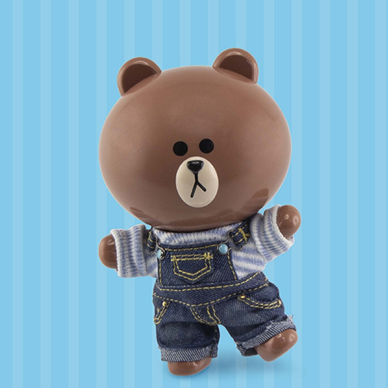 [P-Style] LINE FRIENDS - BROWN Causal Version