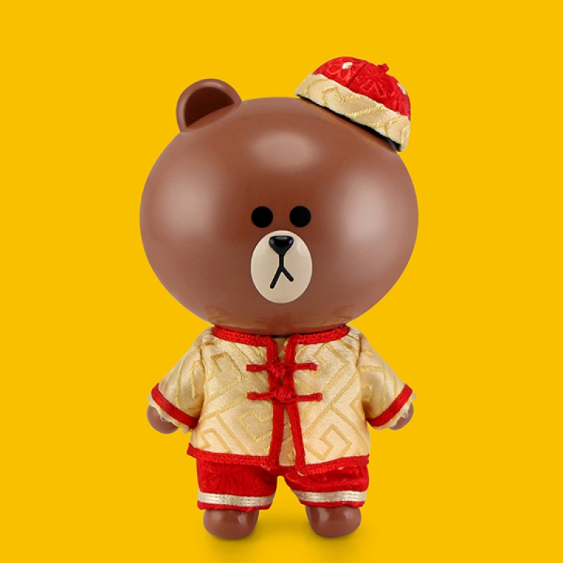 [P-Style] LINE FRIENDS - BROWN Lunar New Year Version