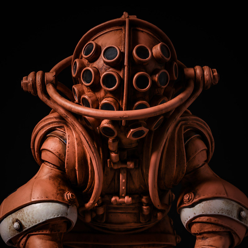 Takeya-Shiki Jizai-Okimono Vintage Diving Suits Collection No.01TA Takeya Color Ver.